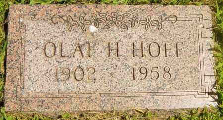 HOFF, OLAF H - Lincoln County, South Dakota | OLAF H HOFF - South Dakota Gravestone Photos