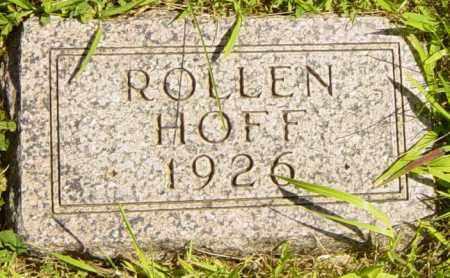 HOFF, ROLLEN - Lincoln County, South Dakota   ROLLEN HOFF - South Dakota Gravestone Photos