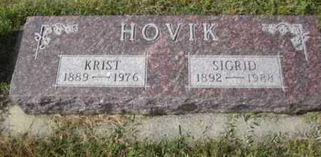 HOVIK, SIGRID - Lincoln County, South Dakota | SIGRID HOVIK - South Dakota Gravestone Photos