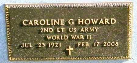 HOWARD, CAROLINE G - Lincoln County, South Dakota | CAROLINE G HOWARD - South Dakota Gravestone Photos