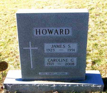 HOWARD, CAROLINE G - Lincoln County, South Dakota | CAROLINE G HOWARD - South Dakota Gravestone Photos