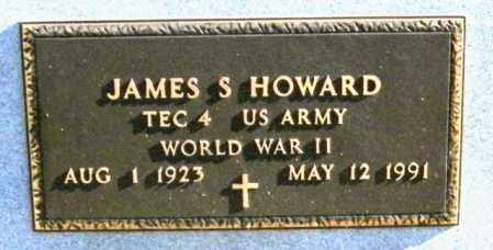 HOWARD, JAMES S - Lincoln County, South Dakota | JAMES S HOWARD - South Dakota Gravestone Photos