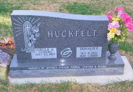 HUCKFELT, DONALD F. - Lincoln County, South Dakota | DONALD F. HUCKFELT - South Dakota Gravestone Photos