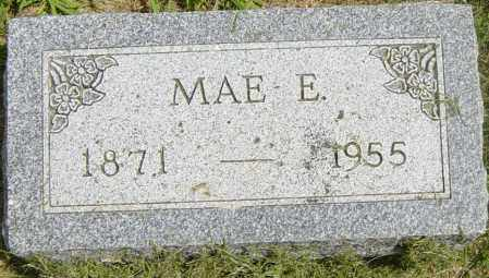 HUFF, MAE E - Lincoln County, South Dakota   MAE E HUFF - South Dakota Gravestone Photos