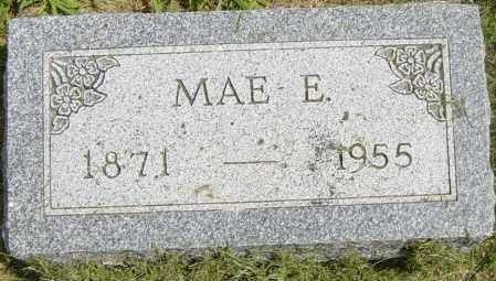 HUFF, MAE E - Lincoln County, South Dakota | MAE E HUFF - South Dakota Gravestone Photos