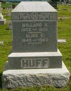 HUFF, ALICE E - Lincoln County, South Dakota   ALICE E HUFF - South Dakota Gravestone Photos
