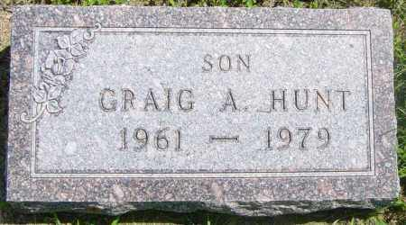 HUNT, CRAIG A - Lincoln County, South Dakota   CRAIG A HUNT - South Dakota Gravestone Photos