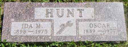 HUNT, IDA M - Lincoln County, South Dakota | IDA M HUNT - South Dakota Gravestone Photos