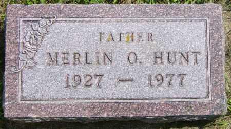 HUNT, MERLINE O - Lincoln County, South Dakota | MERLINE O HUNT - South Dakota Gravestone Photos