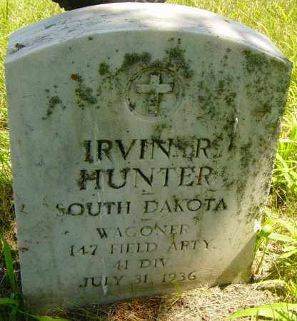 HUNTER, IRVIN R - Lincoln County, South Dakota | IRVIN R HUNTER - South Dakota Gravestone Photos