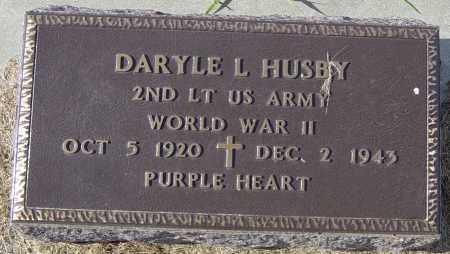 HUSBY, DARYLE L - Lincoln County, South Dakota | DARYLE L HUSBY - South Dakota Gravestone Photos