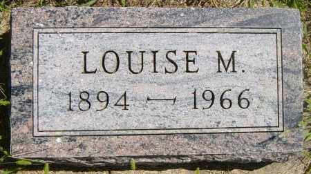 HUSMAN, LOUISE M - Lincoln County, South Dakota | LOUISE M HUSMAN - South Dakota Gravestone Photos