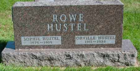 HUSTEL, ORVILLE - Lincoln County, South Dakota | ORVILLE HUSTEL - South Dakota Gravestone Photos