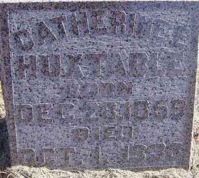 HUXTABLE, CATHERINE E - Lincoln County, South Dakota | CATHERINE E HUXTABLE - South Dakota Gravestone Photos