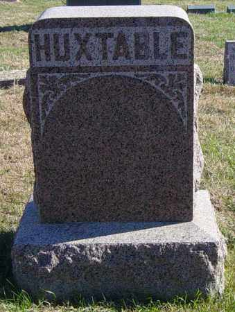 HUXTABLE FAMILY MEMORIAL, WILLIAM - Lincoln County, South Dakota | WILLIAM HUXTABLE FAMILY MEMORIAL - South Dakota Gravestone Photos