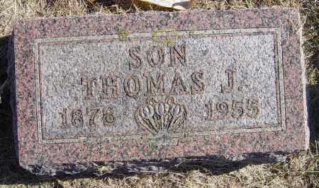 HUXTABLE, THOMAS J - Lincoln County, South Dakota | THOMAS J HUXTABLE - South Dakota Gravestone Photos