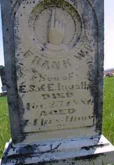 INGALLS, FRANK W - Lincoln County, South Dakota | FRANK W INGALLS - South Dakota Gravestone Photos