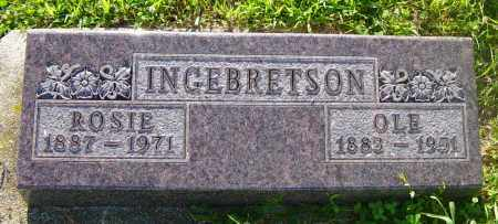 INGEBRETSON, OLE - Lincoln County, South Dakota | OLE INGEBRETSON - South Dakota Gravestone Photos