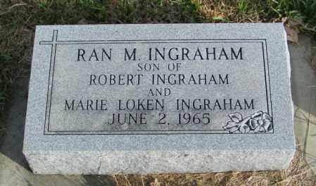 INGRAHAM, RAN M. - Lincoln County, South Dakota | RAN M. INGRAHAM - South Dakota Gravestone Photos