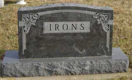 IRONS FAMILY MEMORIAL, NEVIN - Lincoln County, South Dakota | NEVIN IRONS FAMILY MEMORIAL - South Dakota Gravestone Photos