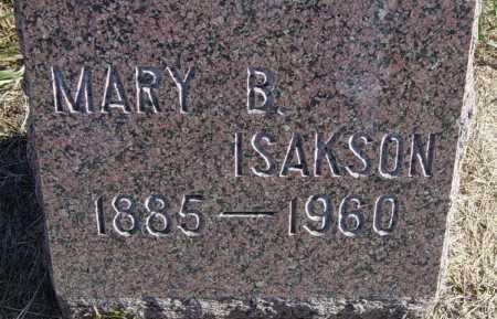 BERGSTROM ISAKSON, MARY B - Lincoln County, South Dakota | MARY B BERGSTROM ISAKSON - South Dakota Gravestone Photos