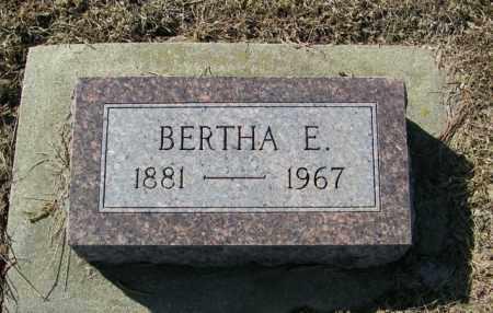IVERSON, BERTHA E - Lincoln County, South Dakota   BERTHA E IVERSON - South Dakota Gravestone Photos