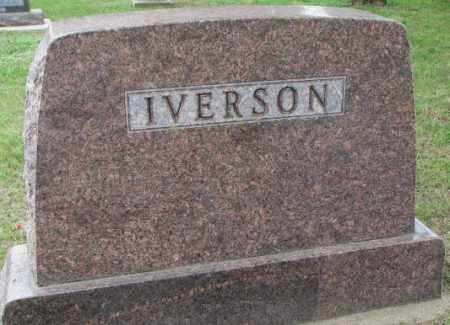 IVERSON, FAMILY PLOT MARKER - Lincoln County, South Dakota | FAMILY PLOT MARKER IVERSON - South Dakota Gravestone Photos