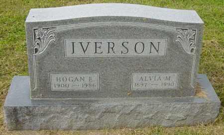 IVERSON, HOGAN E - Lincoln County, South Dakota | HOGAN E IVERSON - South Dakota Gravestone Photos