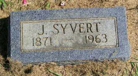 IVERSON, J. SYVERT - Lincoln County, South Dakota | J. SYVERT IVERSON - South Dakota Gravestone Photos