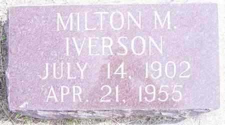 IVERSON, MILTON M - Lincoln County, South Dakota | MILTON M IVERSON - South Dakota Gravestone Photos