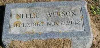 IVERSON, NELLIE - Lincoln County, South Dakota | NELLIE IVERSON - South Dakota Gravestone Photos
