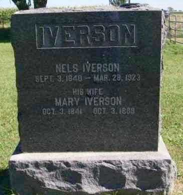 IVERSON, MARY - Lincoln County, South Dakota | MARY IVERSON - South Dakota Gravestone Photos