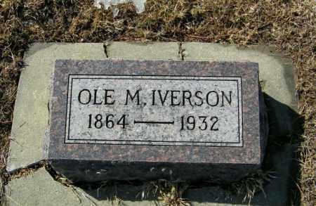 IVERSON, OLE M - Lincoln County, South Dakota | OLE M IVERSON - South Dakota Gravestone Photos