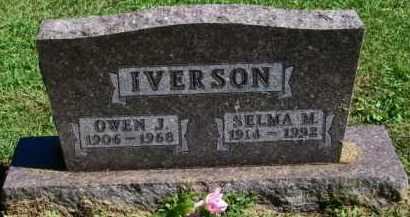 IVERSON, OWEN J. - Lincoln County, South Dakota | OWEN J. IVERSON - South Dakota Gravestone Photos