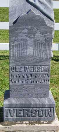 IVERSON, OLE - Lincoln County, South Dakota | OLE IVERSON - South Dakota Gravestone Photos