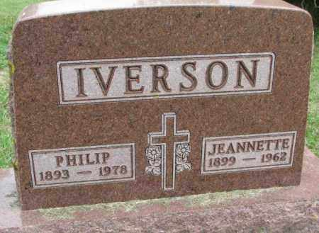 IVERSON, PHILIP - Lincoln County, South Dakota | PHILIP IVERSON - South Dakota Gravestone Photos