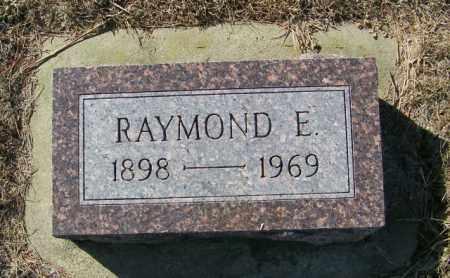 IVERSON, RAYMOND E - Lincoln County, South Dakota | RAYMOND E IVERSON - South Dakota Gravestone Photos