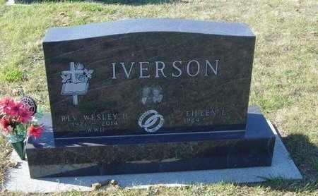 IVERSON, REV WESLEY H - Lincoln County, South Dakota | REV WESLEY H IVERSON - South Dakota Gravestone Photos