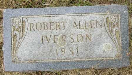 IVERSON, ROBERT ALLEN - Lincoln County, South Dakota | ROBERT ALLEN IVERSON - South Dakota Gravestone Photos