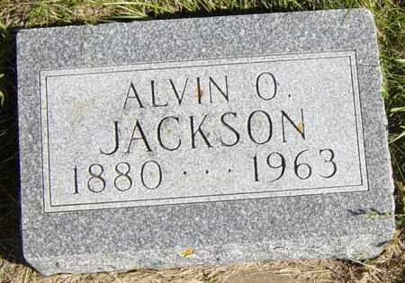 JACKSON, ALVIN O - Lincoln County, South Dakota | ALVIN O JACKSON - South Dakota Gravestone Photos