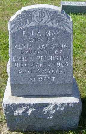PENNISTON JACKSON, ELLA MAY - Lincoln County, South Dakota   ELLA MAY PENNISTON JACKSON - South Dakota Gravestone Photos