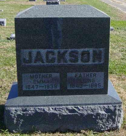 JACKSON, EMMA - Lincoln County, South Dakota | EMMA JACKSON - South Dakota Gravestone Photos