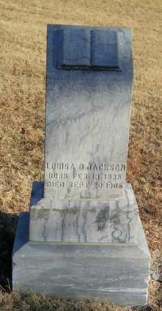 JACKSON, LOUSIA D - Lincoln County, South Dakota | LOUSIA D JACKSON - South Dakota Gravestone Photos