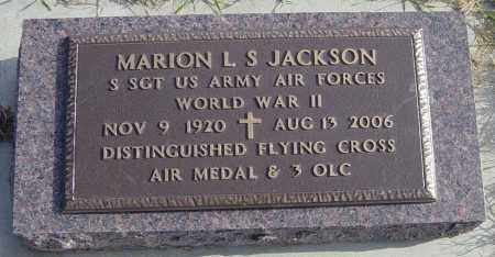 JACKSON MILITARY, MARION L S - Lincoln County, South Dakota | MARION L S JACKSON MILITARY - South Dakota Gravestone Photos