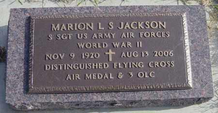 JACKSON MILITARY, MARION L S - Lincoln County, South Dakota | MARION L S JACKSON MILITARY - South Dakota Gravestone Photos