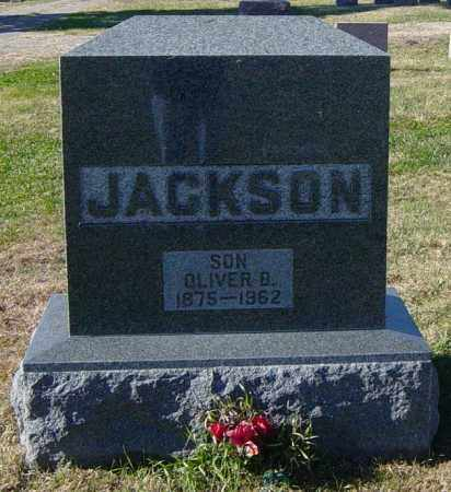 JACKSON, OLIVER B - Lincoln County, South Dakota | OLIVER B JACKSON - South Dakota Gravestone Photos