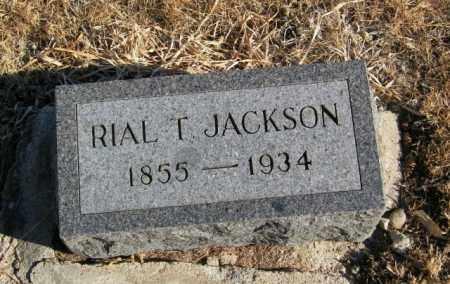 JACKSON, RIAL T - Lincoln County, South Dakota   RIAL T JACKSON - South Dakota Gravestone Photos