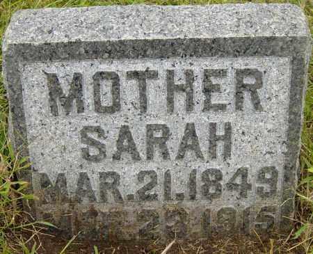 JACKSON, SARAH - Lincoln County, South Dakota | SARAH JACKSON - South Dakota Gravestone Photos