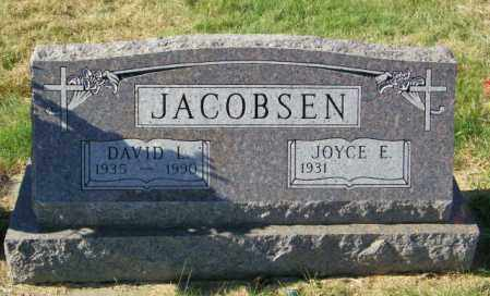 JACOBSEN, DAVID L - Lincoln County, South Dakota | DAVID L JACOBSEN - South Dakota Gravestone Photos