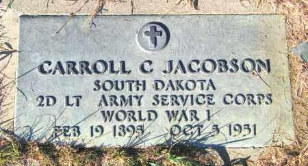 JACOBSON, CARROLL C - Lincoln County, South Dakota | CARROLL C JACOBSON - South Dakota Gravestone Photos